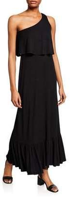Rachel Pally Harmony One-Shoulder Sleeveless Maxi Dress