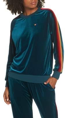 Aviator Nation Velvet Crewneck Sweatshirt
