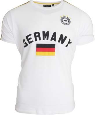 Brave Soul Unisex Germany Short Sleeve Football T-Shirt (L)