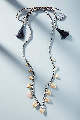 Anthropologie Heartstrings Necklace