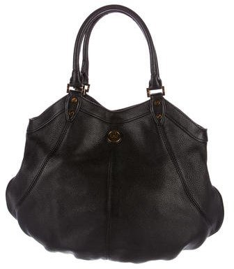 Tory Burch Tory Burch Pebbled Leather Hobo