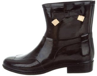 Burberry Bow-Embellished Rain Boots