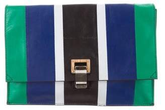 Proenza Schouler Small Striped Lunch Bag
