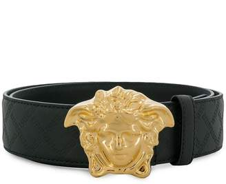 Versace logo buckle belt