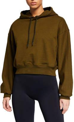 Reebok x Victoria Beckham Cropped Pullover Hoodie