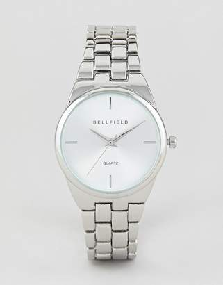 Bellfield Silver Plated Watch