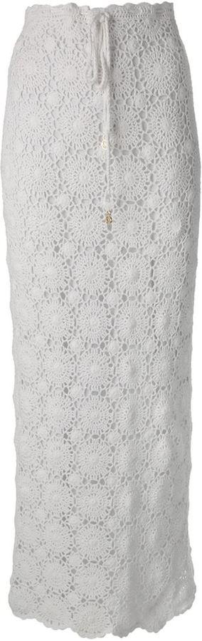 Melissa Odabash 'Barri' crochet skirt