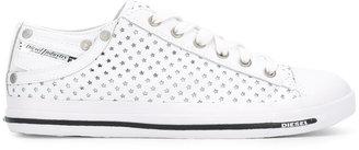 Diesel star detail sneakers $154.09 thestylecure.com