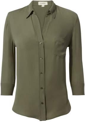 L'Agence Ryan Beetle Silk Shirt