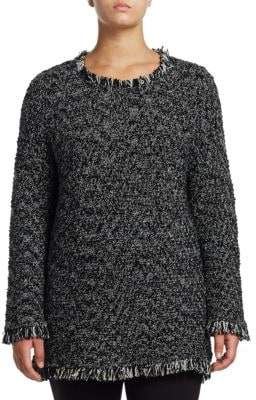 Nic+Zoe Plus Plus Misty Fringe Sweater