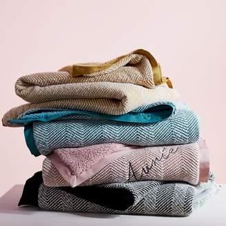 west elm Tweed Sherpa Baby Blanket