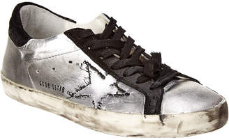 Golden Goose Leather & Suede Skateboard Sneaker