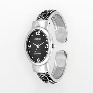Studio Time Women's Scroll Bangle Watch