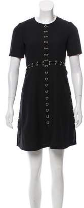The Kooples Short Sleeve Mini Dress