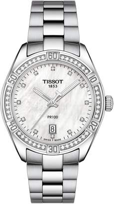 Tissot T-Classic PR 100 SE Bracelet Watch, 36mm