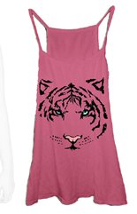Barbie Wildfox Summer Tiger Tank in