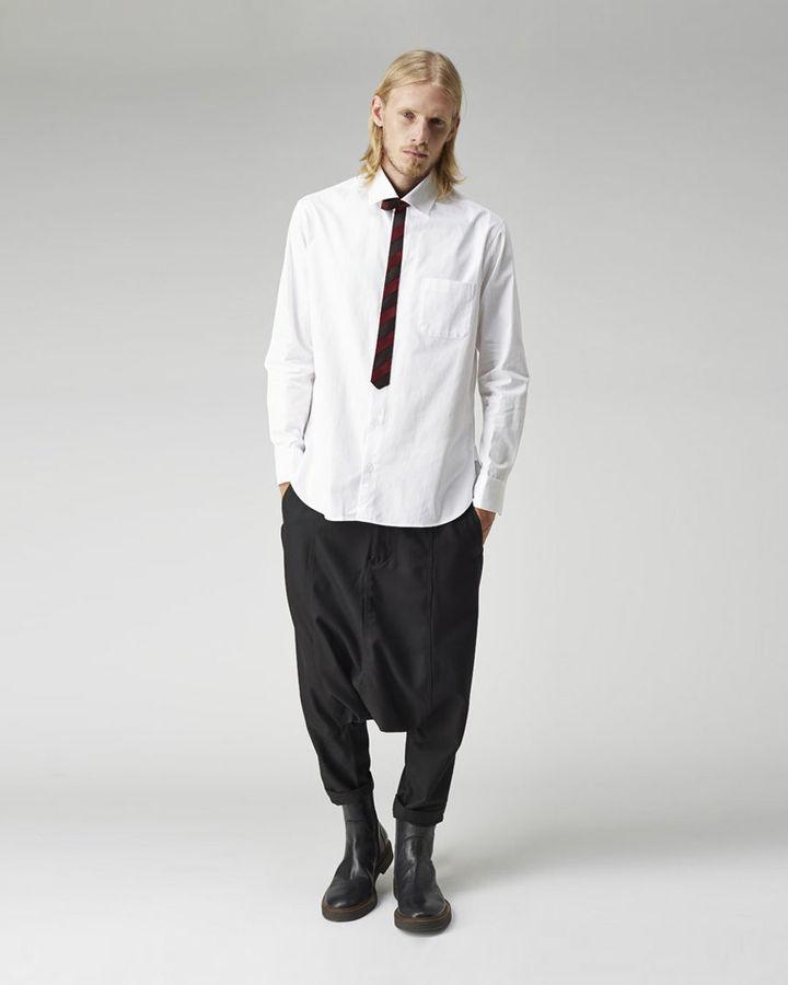 Yohji Yamamoto Narrow Tie Shirt