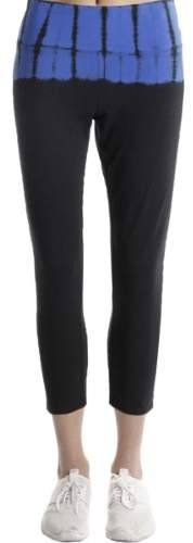 Calvin Klein Performance Womens Tummy Slimming Tie-Dye Athletic Leggings