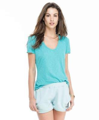 Todd Snyder + Champion: Womens Women's V-neck Tee in Cool Teal