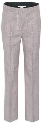 Stella McCartney Houndstooth wool trousers
