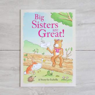My 1st Years Personalised 'Big Sisters' Book