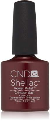 CND Cosmetics Shellac Vernis UV Crimson Sash 7.3 ML