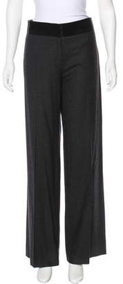 Mantu Wool High-Rise Pants