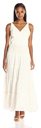 Tommy Hilfiger Women's Diamond Burnout Maxi Dress $149 thestylecure.com