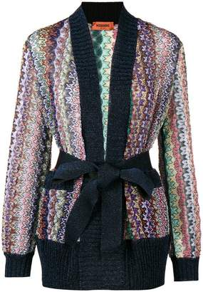 Missoni glitter knit cardigan