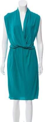 Lanvin Ruffle-Accented Midi Dress