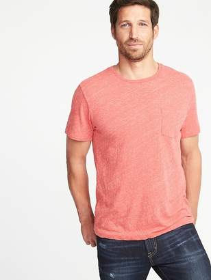 Old Navy Soft-Washed Slub-Knit Pocket Tee for Men
