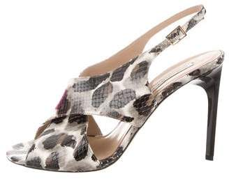 Diane von Furstenberg Vick Slingback Sandals