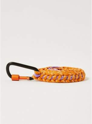 Topman Mens Multi Orange and Lilac Rope Belt