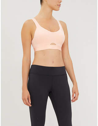 adidas Stronger For it jersey sports bra