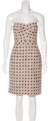 Trina Turk Strapless Knee-Length dress