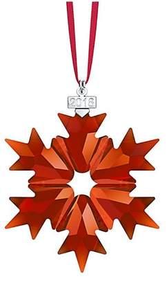 Swarovski 2018 Magma Star Ornament