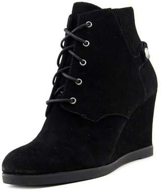 MICHAEL Michael Kors Womens Carrigan Wedge Leather