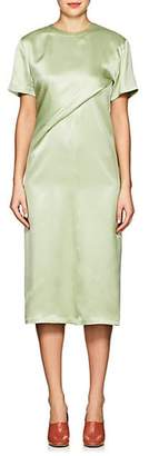 Sies Marjan WOMEN'S WAVERLY SILK CHARMEUSE DRESS