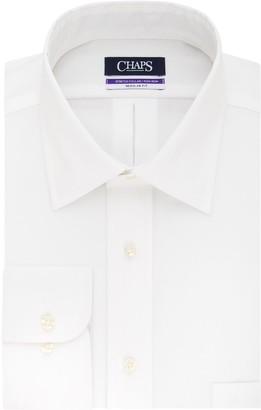 Chaps Big & Tall Regular-Fit No-Iron Stretch Spread-Collar Dress Shirt