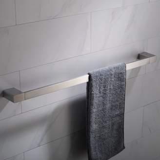 Kraus KRAUS Stelios 24-inch Bathroom Towel Bar, Brushed Nickel Finish