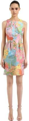 Moschino Floral Jacquard Mini Dress