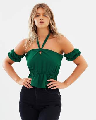 Atmos & Here ICONIC EXCLUSIVE - Regina Off-Shoulder Top