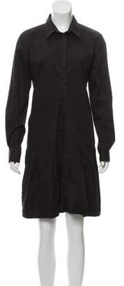 Thakoon Long Sleeve Knee Length Dress