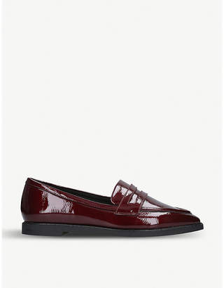 Kurt Geiger Moby faux-patent leather loafers