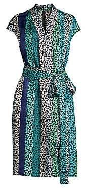 Escada Women's Delita Daisy Striped Dress