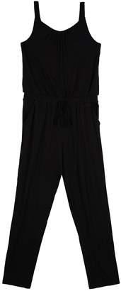 Amy Byer Iz Girls' IZ Strapped Jumpsuit