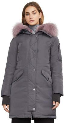 BCBGMAXAZRIA Reese Down-Filled Fur-Hooded Parka
