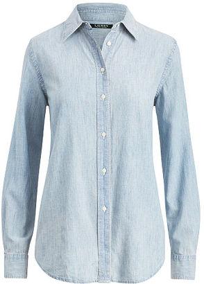 Ralph Lauren Lauren Chambray Shirt $99.50 thestylecure.com