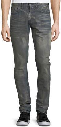 PRPS Dusty Distressed Slim/Straight-Leg Jeans