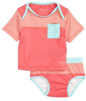 Patagonia 'Little Sol' Two-Piece Rashguard Swimsuit